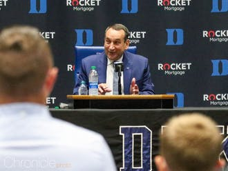 Coach K emphasized his gratitude to all those who have believed in him throughout his coaching career and life.