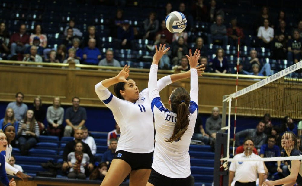 <p>Junior middle blocker Jordan Tukcer slammed home a team-high 24 kills as Duke attempted to climb out of an 0-3 hole, but Florida State outlasted the Blue Devils in five sets Friday.</p>