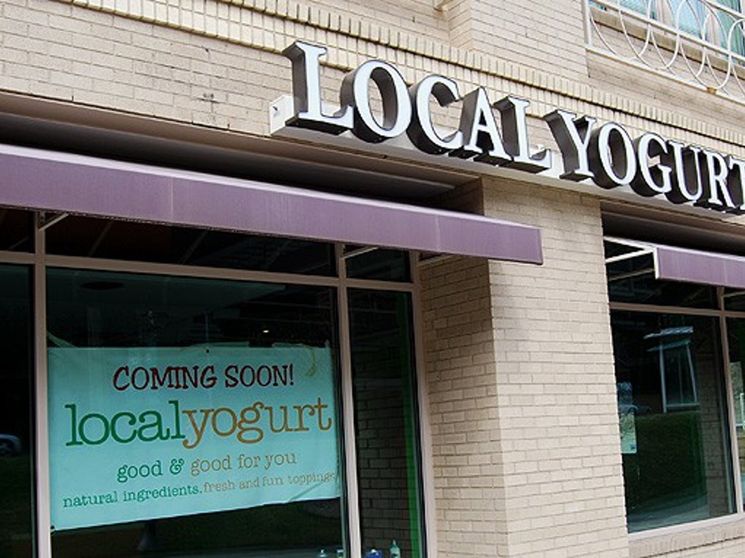 Local Yogurt is responding to increased demand by opening a fourth store in the Erwin Terrace complex on Erwin Road.
