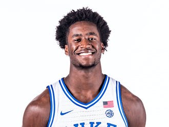 Freshman forward AJ Griffin will miss the start of the 2021-22 campaign with a sprained knee suffered Oct. 8.