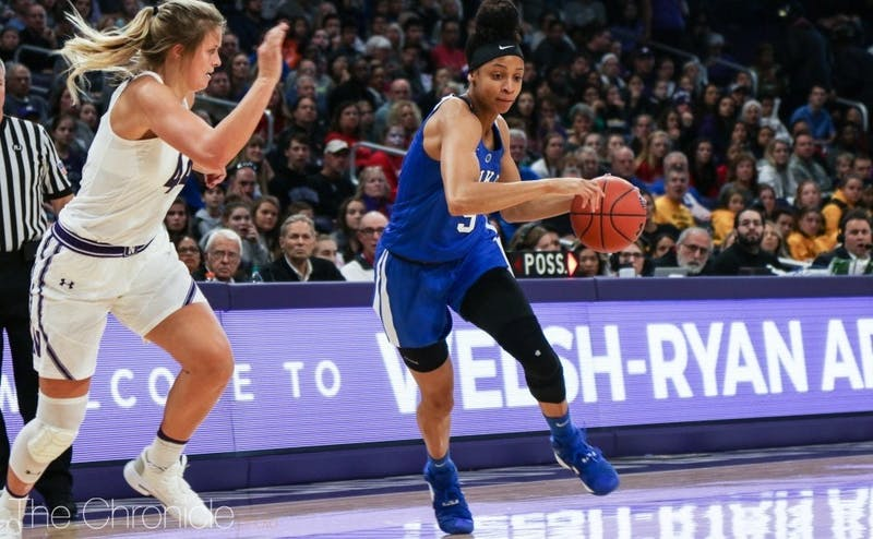 Leaonna Odom has scored in double figures in Duke's first two games.
