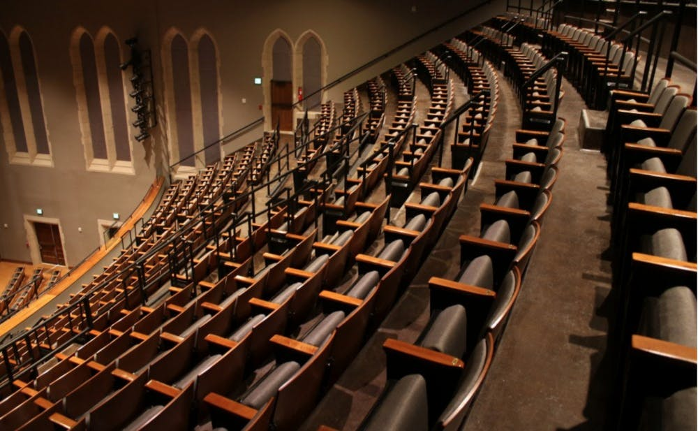 Chronicle File Photo   Page Auditorium after it was renovated in 2015