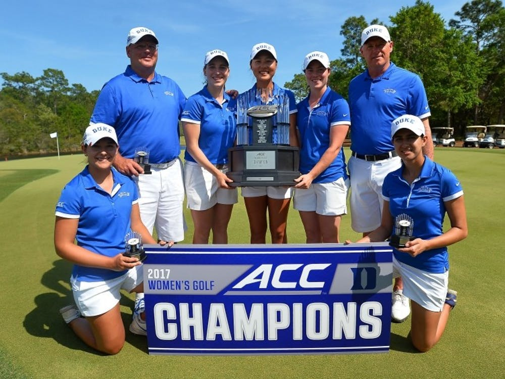 Head coach Dan Brooks led the Blue Devils to another ACC championship this spring.