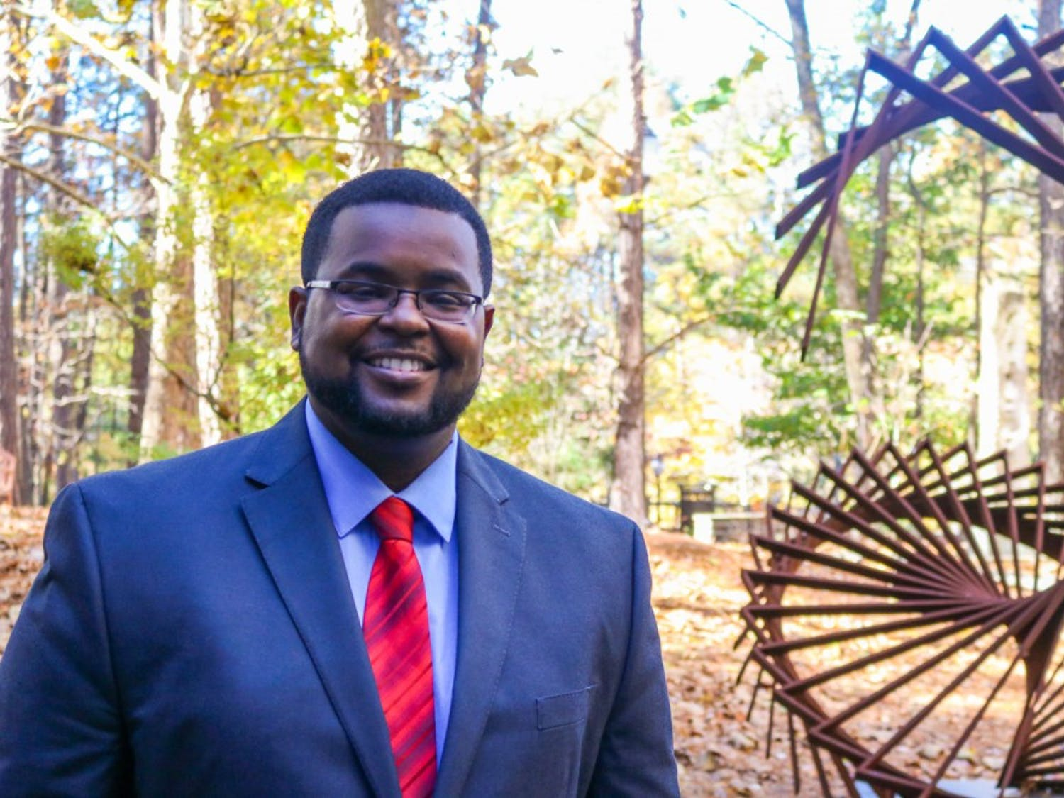 Jesse McCoy, an attorney who supervises the Civil Justice Clinic at Duke's law school, helps defend Durhamites in danger of being evicted.