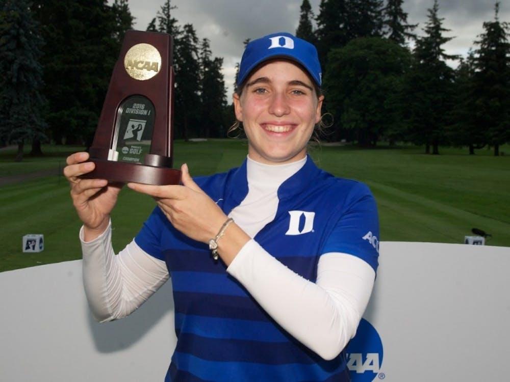 Virginia Elena Carta captured Duke's only national championship in 2016.