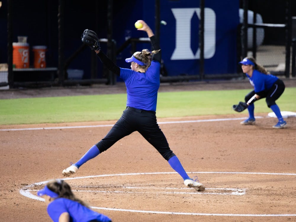 Duke's pitchers dominated against Charlotte.