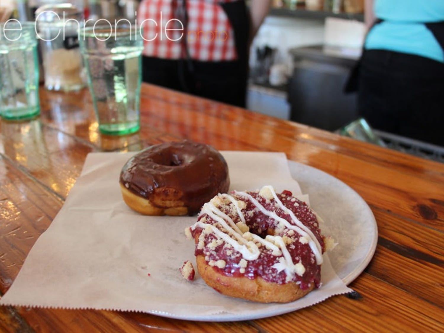 Monuts donuts bring together young and old, Tarheel and Blue Devil, for a scrumptioustreat.