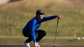 Freshman Ian Siebers finished the weekend tied for 10th overall.