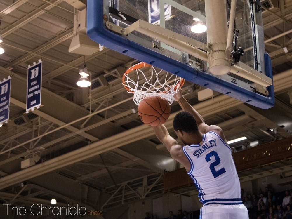 <p>Cassius Stanley, one of the more vibrant personalities on the team, cited the program's social media presence as a reason he committed to Duke.</p>