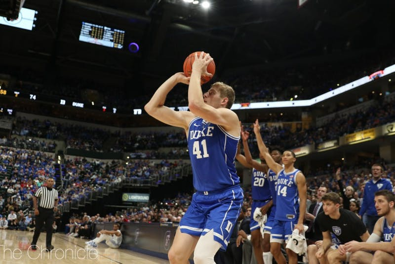 Jack White has proven to be a key role player for the Blue Devils in locking down on defense.