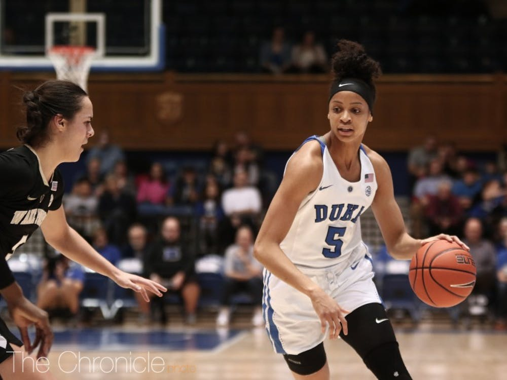 Leaonna Odom led Duke to its first win of 2019 with a 20-point performance.