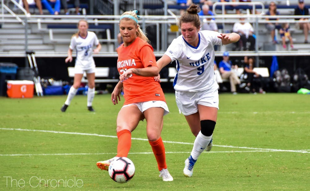 <p>Kat McDonald is one of four seniors who will be playing their final matches in Koskinen this coming week.</p>