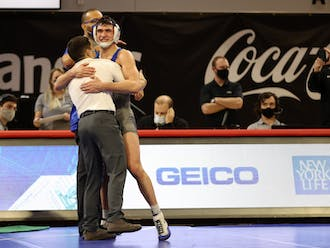 Josh is one of an array of standout Duke wrestlers from the Finesilver family.