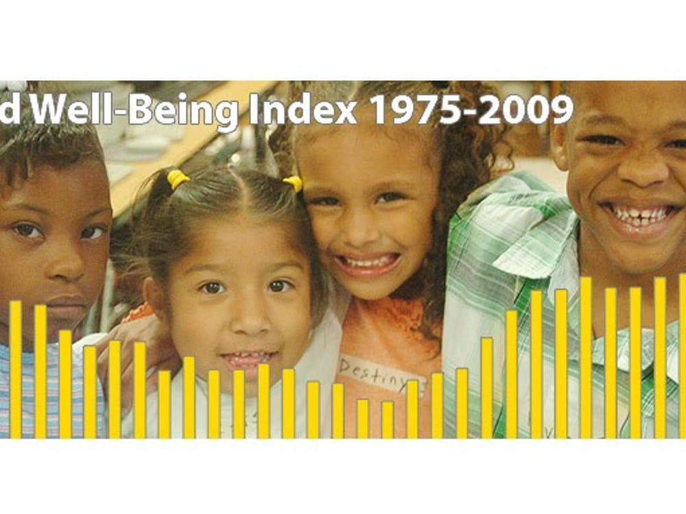 The Child Well-Being Index is a measure of the welfare of children in the United States. According to the 2010 report, child poverty levels  are predicted to rise higher than they have in 20 years.