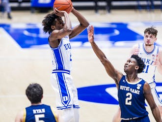 DJ Steward's hot shooting sparked the Blue Devils early.