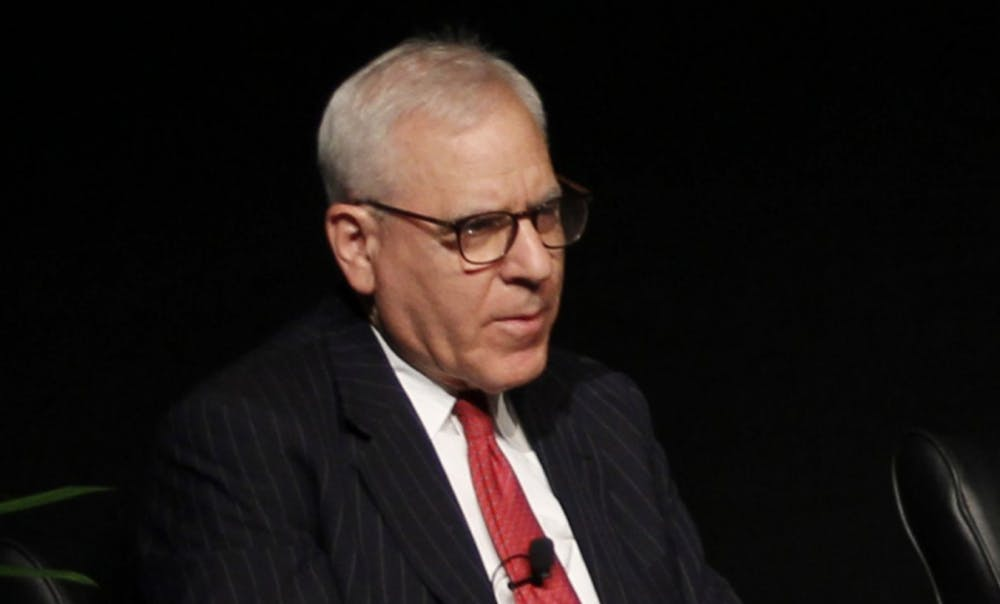 <p>David Rubenstein, Trinity '70, currently&nbsp;serves as the chair of the Board of Trustees, but his term will end in 2017.</p>