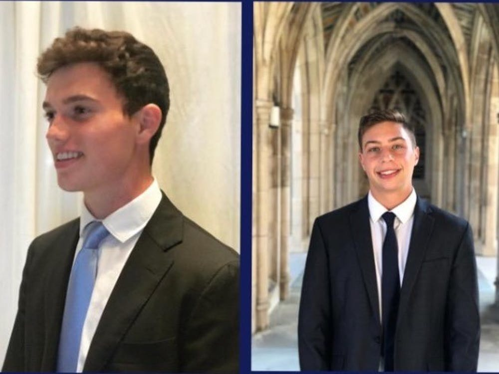 Juniors Josh Berman and Alejandro Vogel were elected Class of 2022 Class Council president and vice president, respectively.