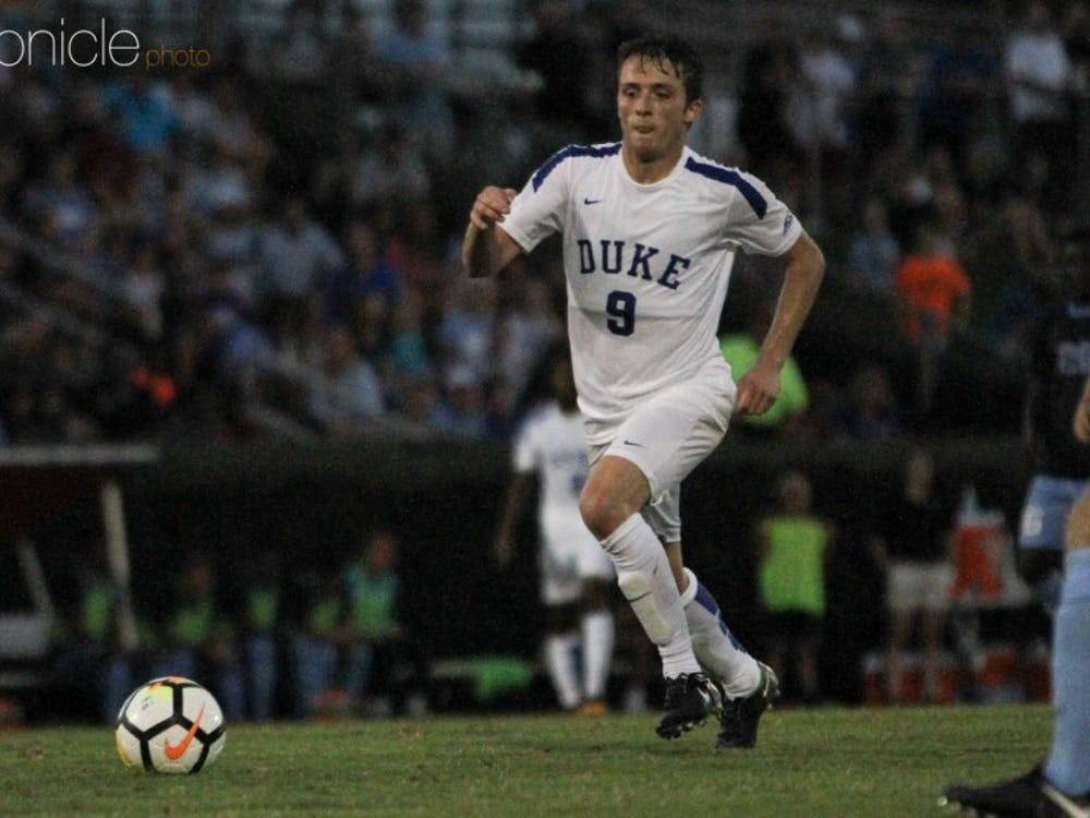 Daniele Proch's extra time goal helped Duke beat Vermont to win the John Rennie invitational.
