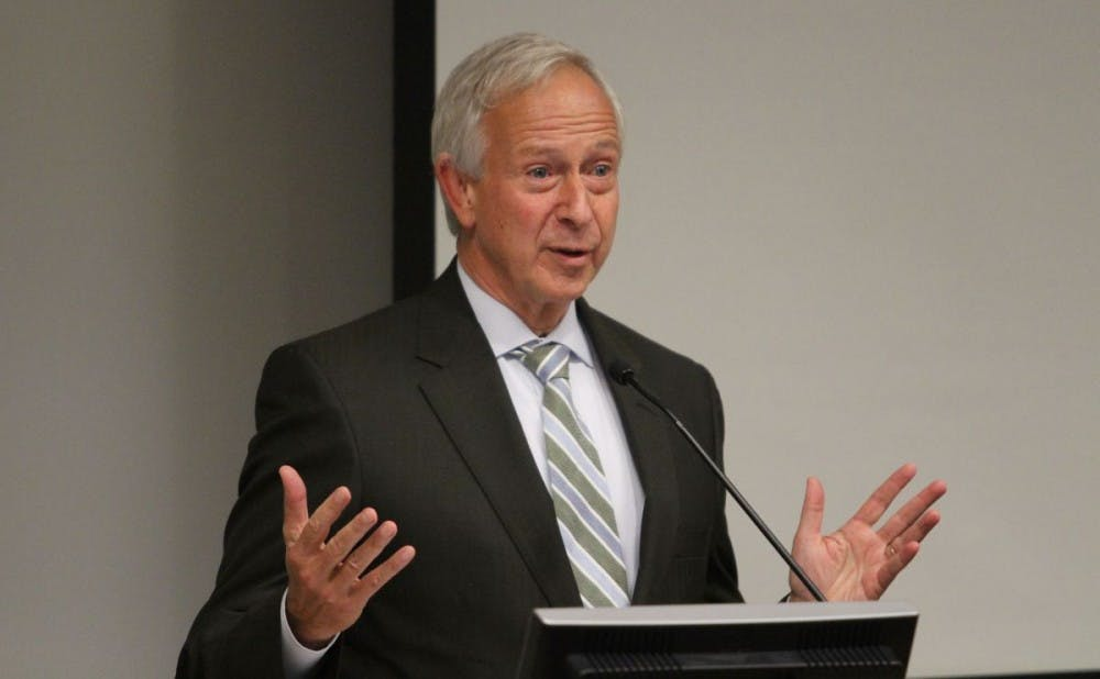 <p>Isaacson, Miller will serve as the search firm in the process of finding a successor for President Brodhead, who announced in April his plans to retire.&nbsp;&nbsp;</p>