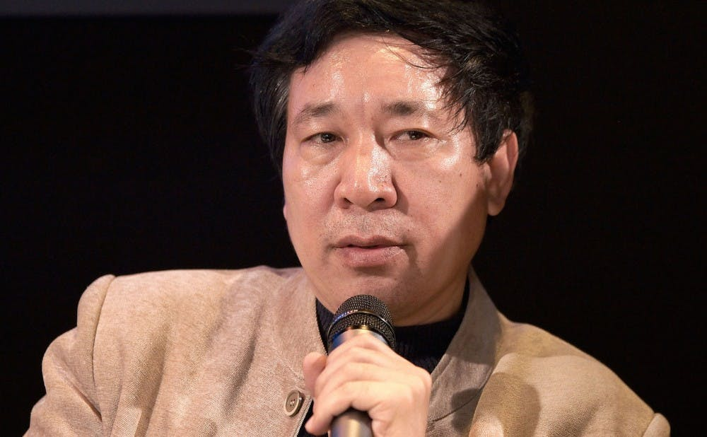 "Chinese Novelist Yan Lianke, author of ""The Day the Sun Died,"" pictured in 2010."