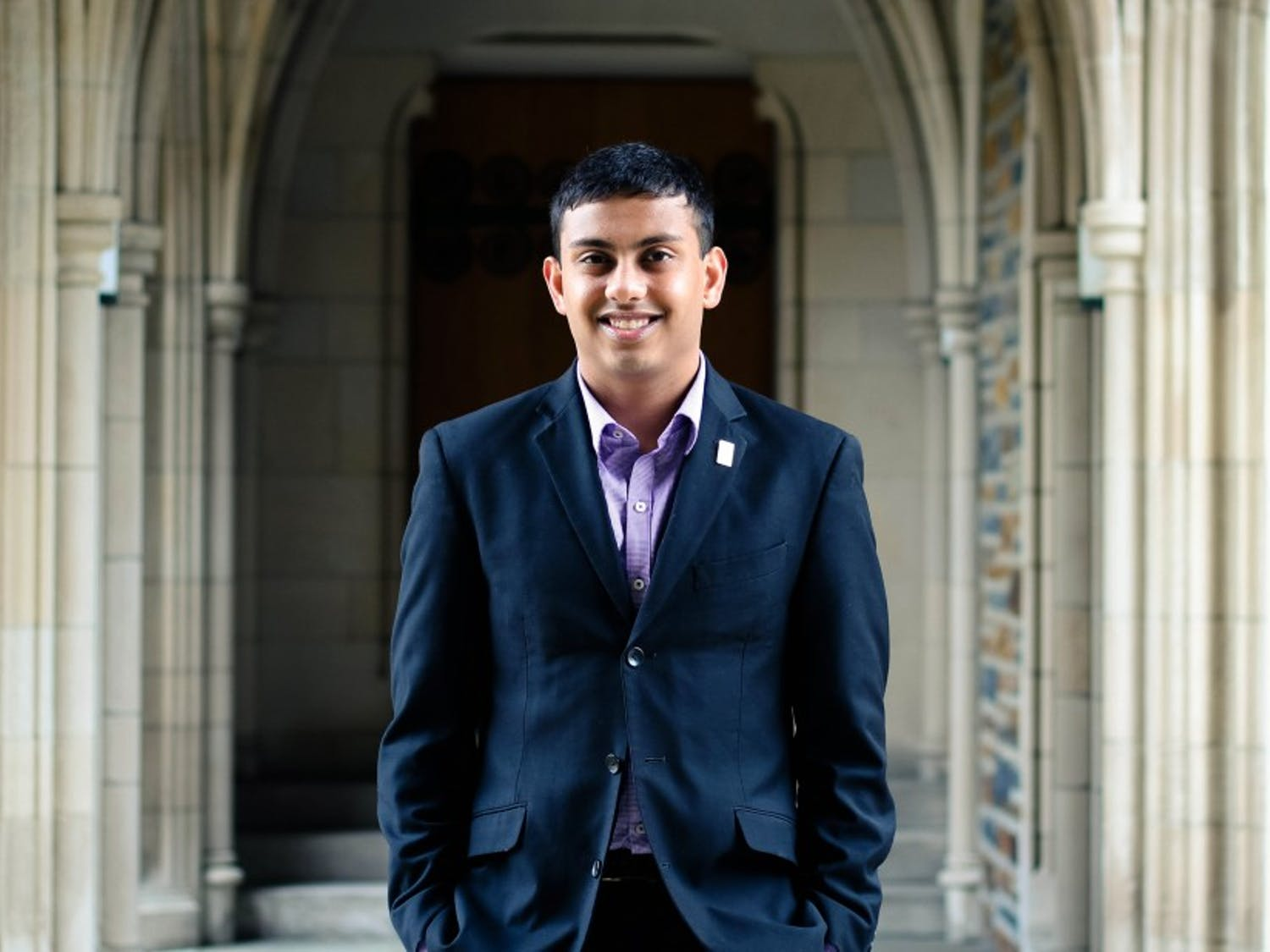 Sophomore Abhi Sanka has been involved in DSG for the past two years as a senator for residential life.