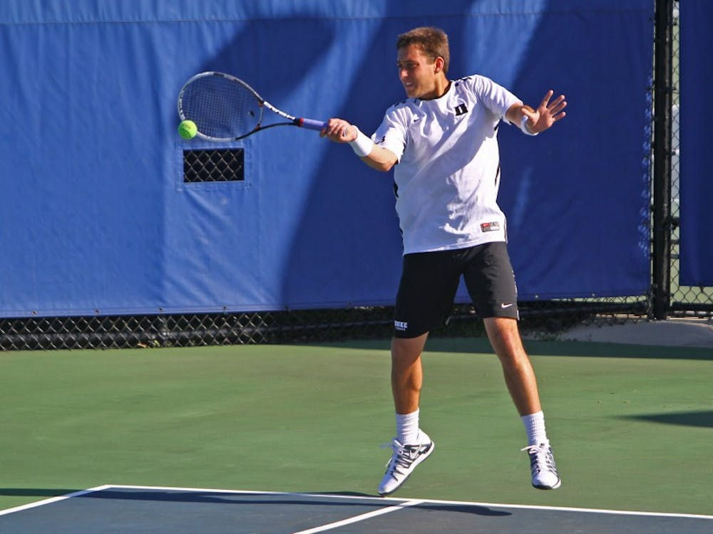 Junior Josh Levine will compete in his first tournament of the year this weekend at the Wake Forest Invitational.