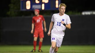 Junior Scotty Taylor tallied a goal and an assist in Duke's overtime loss to Clemson.