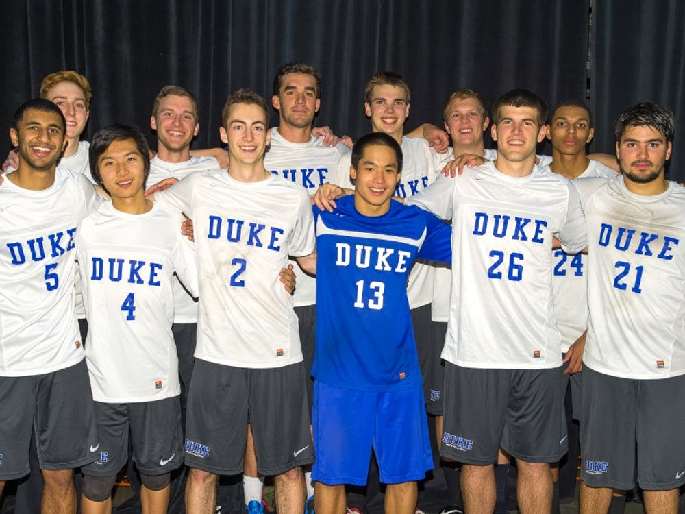The Duke club men's volleyball team had a successful campaign last season, finishing third out of 48 teams at club nationals in Reno, Nev.