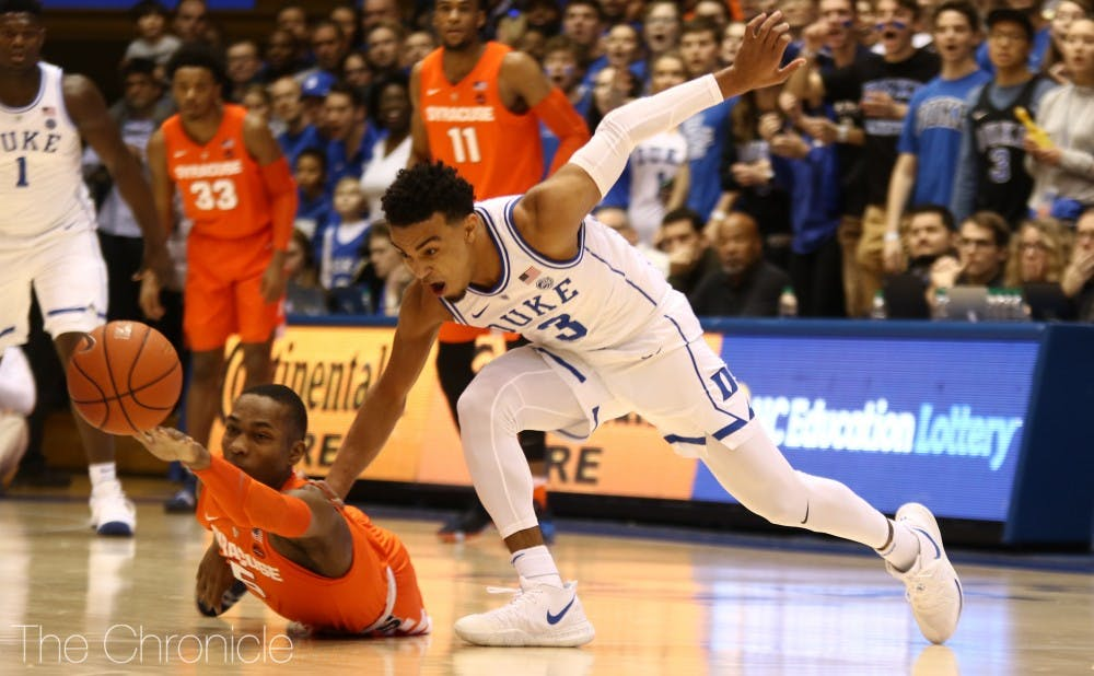 <p>There was a glimmer of hope that Tre Jones would not miss a single game with his shoulder injury, but that will not be the case.</p>