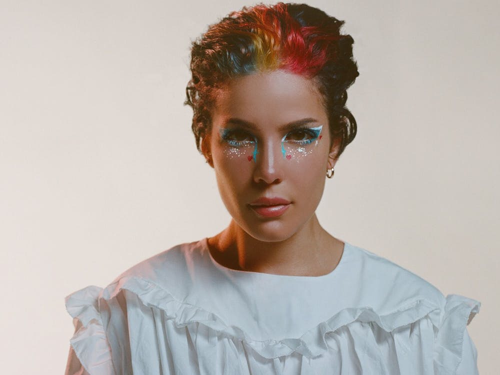 "Halsey's latest album, ""Manic,"" partially explores her day-to-day struggle with bipolar disorder."