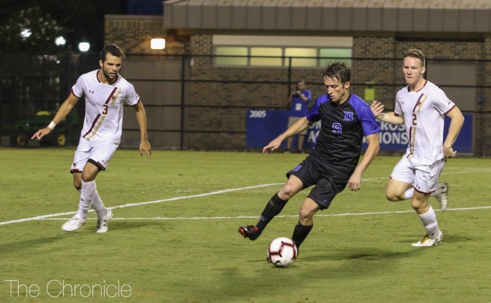 <p>Daniele Proch will lead Duke's offense in its season opener against Furman in the John Rennie Nike Invitational.</p>