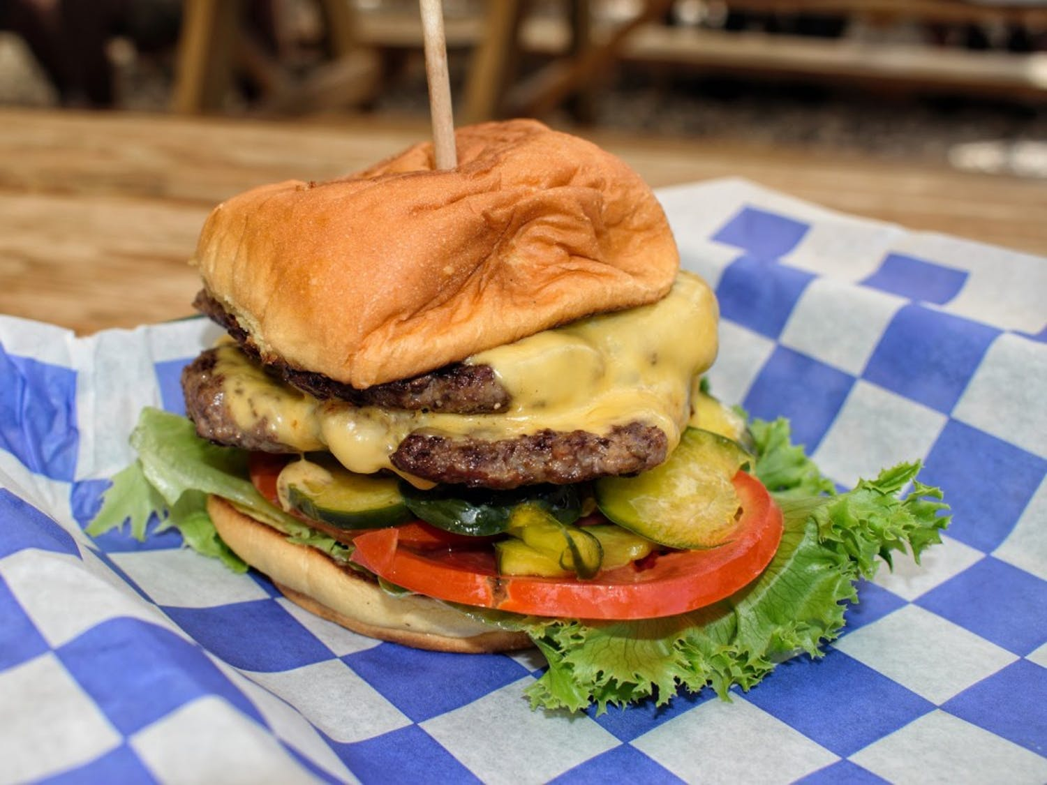Durham's Eastcut Sandwich Bar serves up a burger that holds its own against the city's large offering of beef patties.