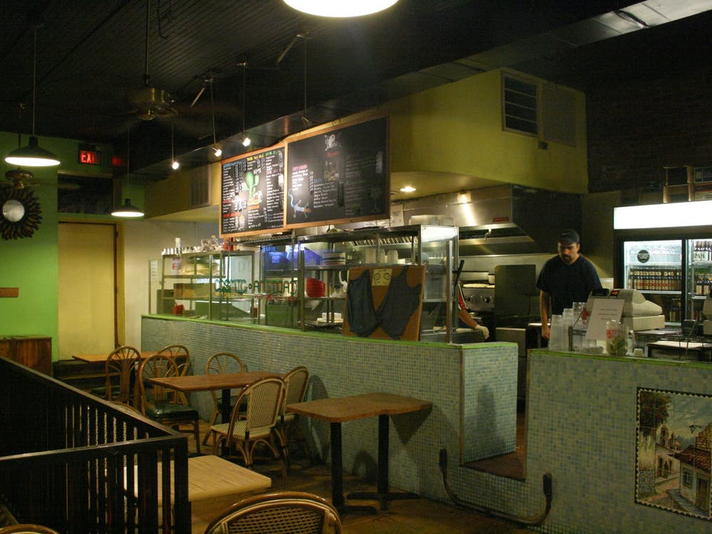 Cosmic Cantina, a student-favorite restaurant near East Campus, seen here before the pandemic.
