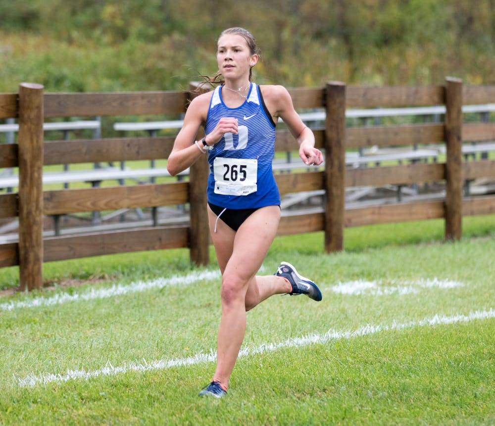 Senior Amanda Beach's return to form this season could have a huge impact for the Blue Devils.