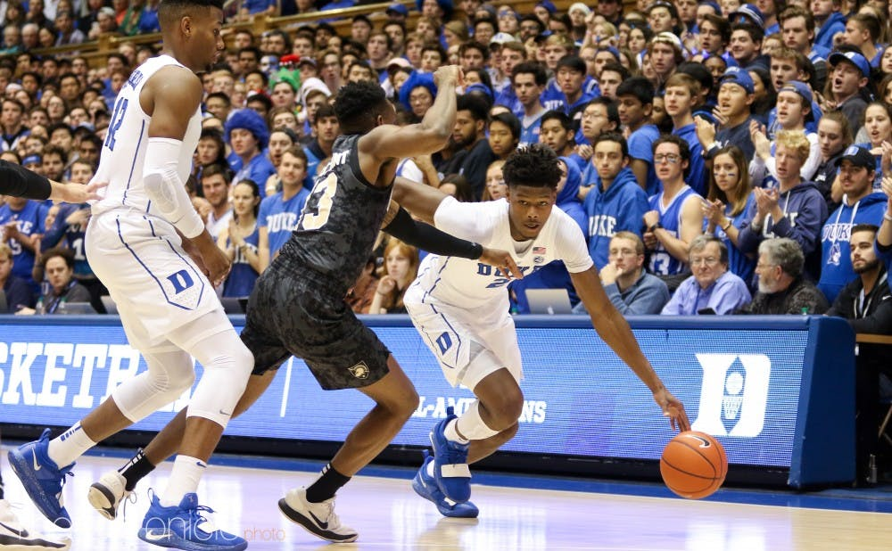 <p>Cam Reddish's 7-for-13 performance from beyond the arc showed how important his shooting will be for Duke this year.</p>