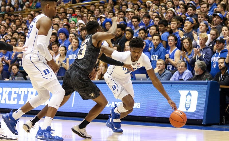 Cam Reddish's 7-for-13 performance from beyond the arc showed how important his shooting will be for Duke this year.