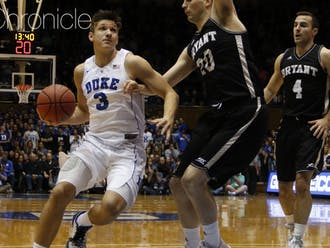 Grayson Allen kicked off his sophomore campaign with a bang this weekend, totaling 54 points—the second-most ever for a Duke player through the season's first two games—thanks in large part to a combined 17-of-18 performance from the free throw line.