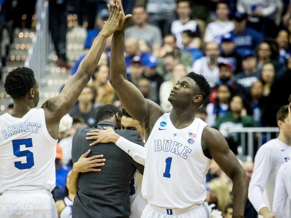 Zion and RJ battled it out during the Rising Stars game