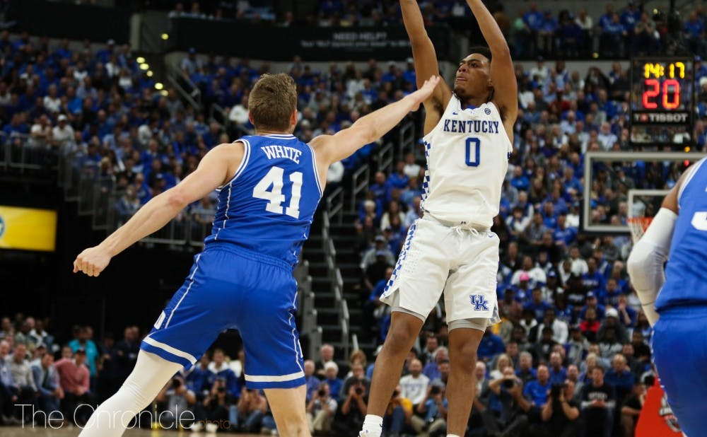 b7231d5c7a3 Captain Jack White displays leadership and vast improvement for Duke men s  basketball