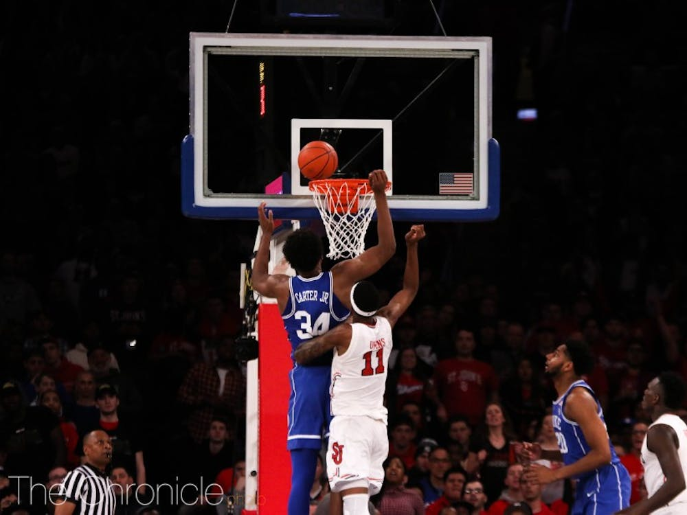 St. John's outrebounded Duke by seven in the second half and outscored the Blue Devils in the paint by double digits.