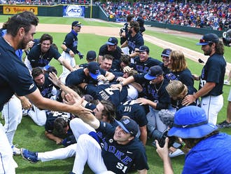 On Sunday, Duke baseball won its first ever conference tournament, and first ACC title since 1961.