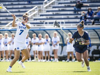 Graduate senior Catherine Cordrey tied her season-high goal mark with four against Mount St. Mary's.
