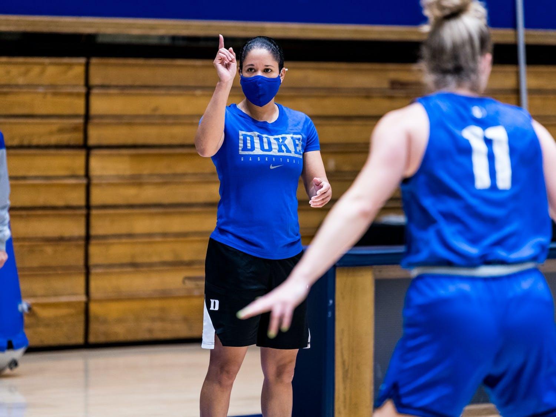 Head coach Kara Lawson and her squad will take on Iowa and South Carolina during the 2021-22 season.
