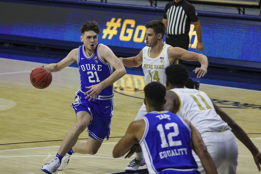 Sophomore forward Matthew Hurt paced the Blue Devil offense once again.