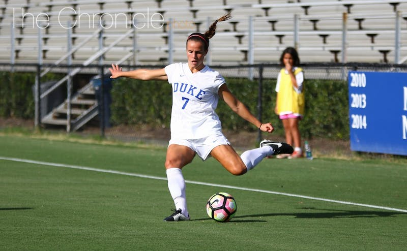 Duke's points leader from 2015 decided to return for her sophomore season instead of redshirting to compete in Papua New Guinea.