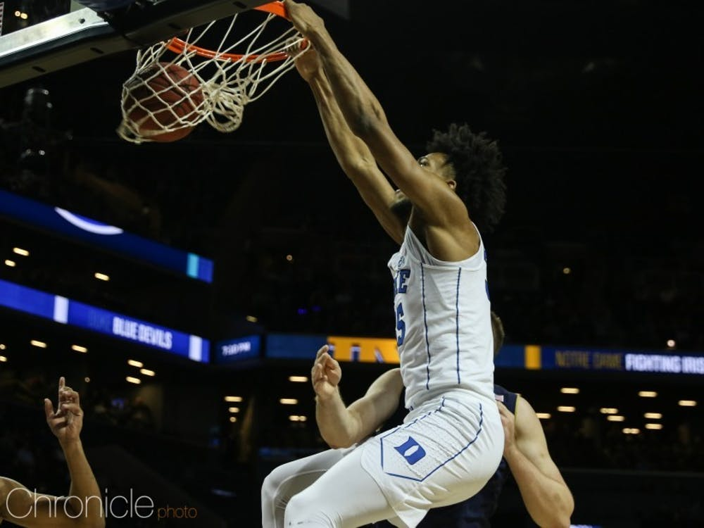 Marvin Bagley III could get another crack at Michigan State after he had to miss most of the teams' first matchup.