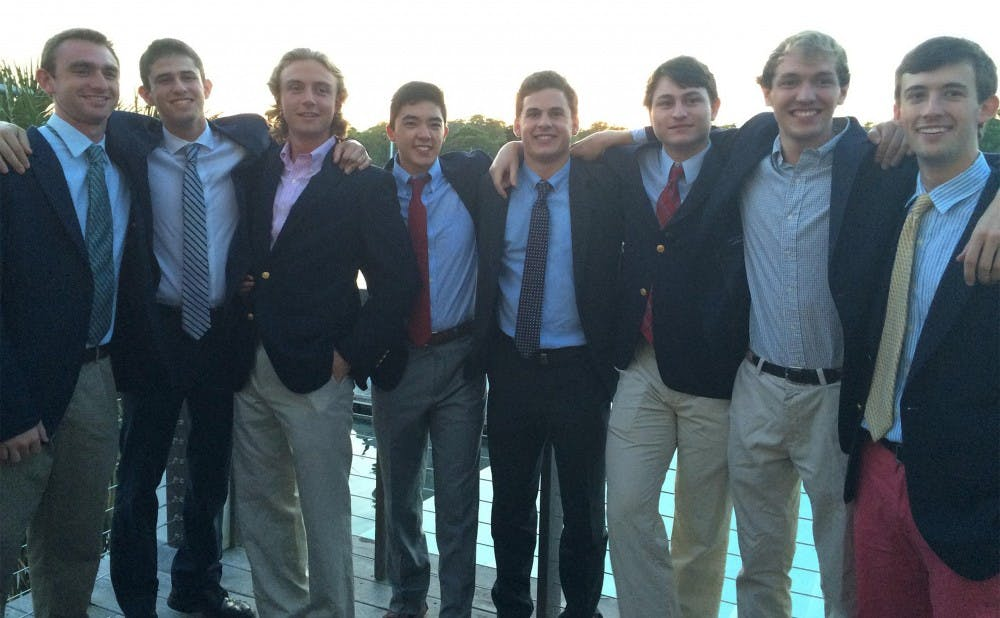 <p>Pi Kappa Alpha fraternity brothers have raised more than $30,000 for cancer research and programs at Duke Children's Hospital using a GoFundMe page.</p>