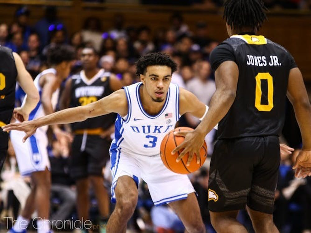The Blue Devils will need to lock down a lethal Wofford group on the perimeter.