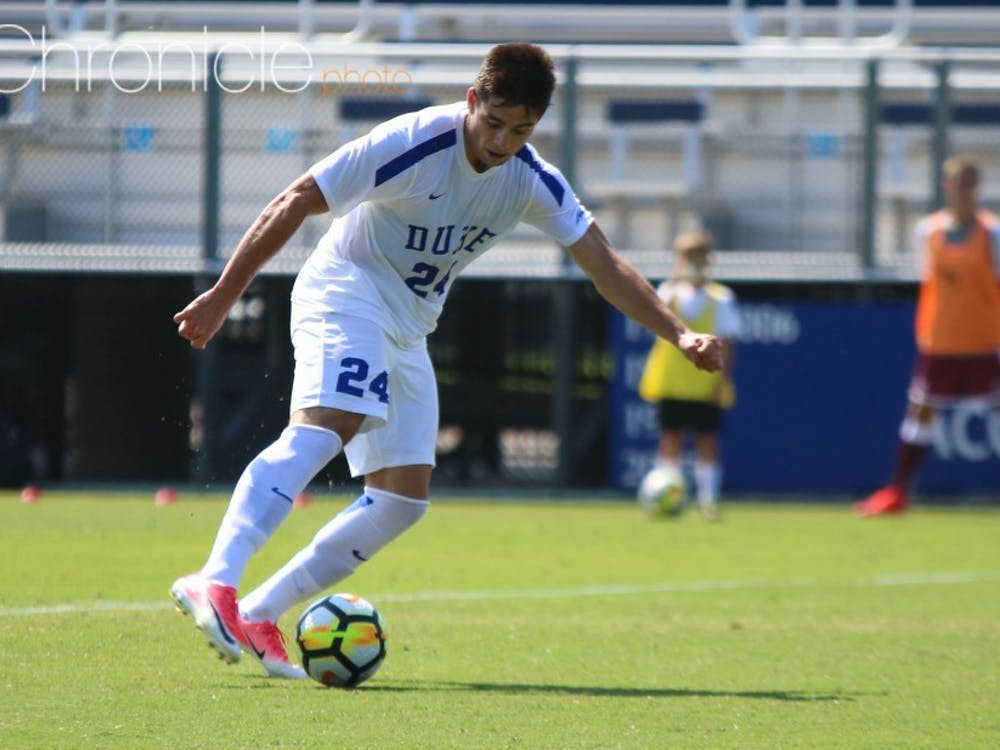 Brian White scored 17 goals in 14 games this summer and carried that success to Duke, where he scored twice in the first weekend of the season.