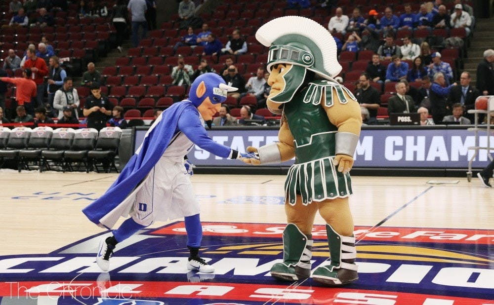 Duke has gotten the better of the Spartans in all but one of their matchups in the last 20 years.